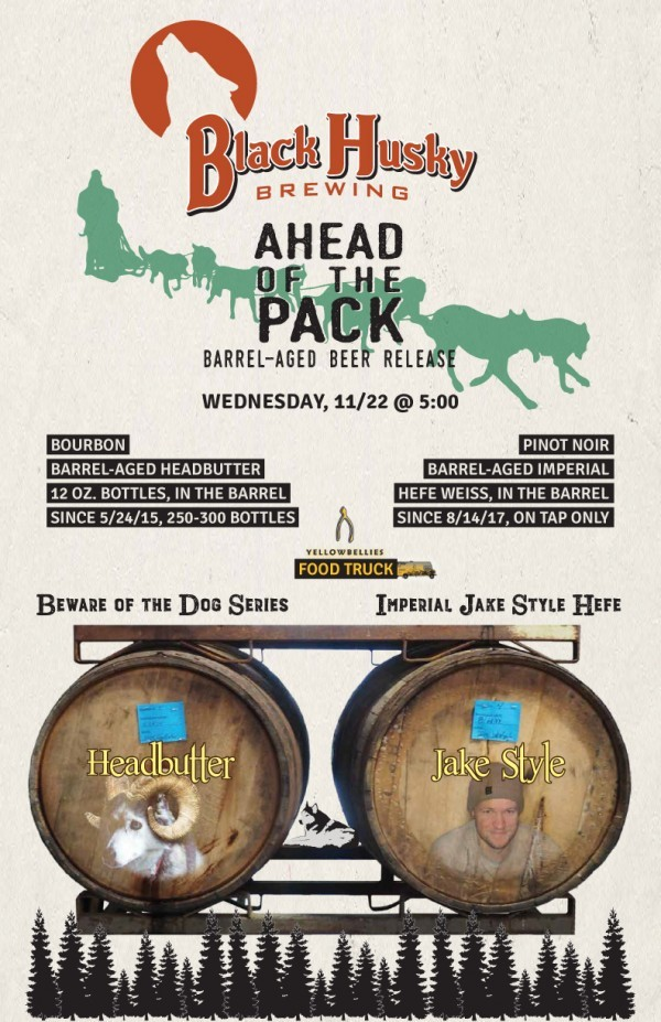 Ahead of the Pack Barrel-Aged Beer Release