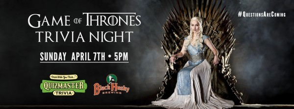 Game of Thrones Trivia hosted by Quizmaster